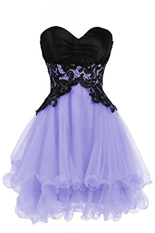 Ellames Sweetheart Bridesmaid Short Prom Homecoming Party Dresses For Juniors