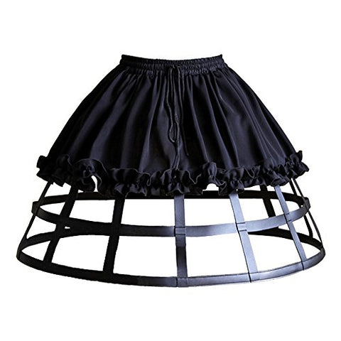 Kimring Women's Fashion Short Petticoat Skirt Steampunk Crinoline Underskirt