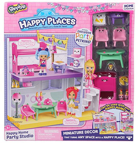 Happy Places Shopkins Happy Home Party Studio Playset
