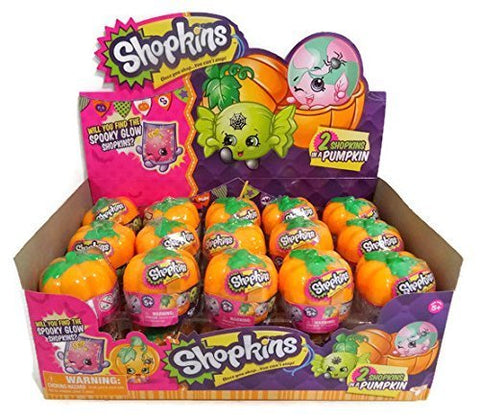 Shopkins Exclusive Halloween Surprise 2-Pack with Pumpkin Carrier - Set of 30