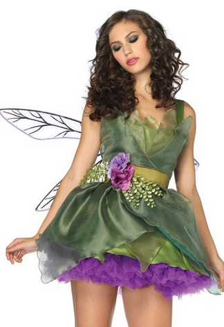 After the Rain Lingerie - Woodland Fairy Women's Halloween Costume