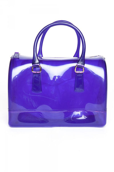 Jelly Handbag in Indigo Purple