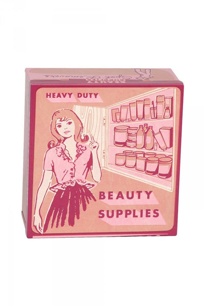 Beauty Supplies Tin Box