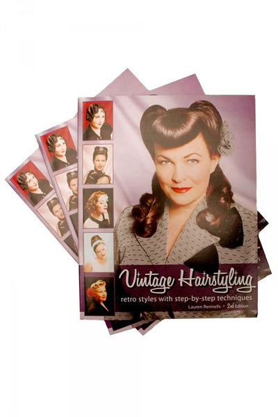 Vintage Hairstyling Book: Retro Styles with Step-by-Step Techniques