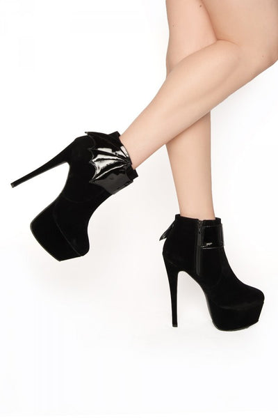 Night Stalker Platform Ankle Bootie