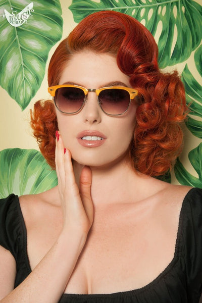 Sorbet Sunglasses in Orange
