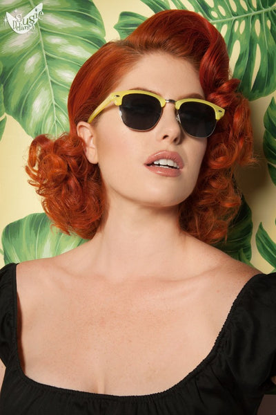 Sorbet Sunglasses in Yellow