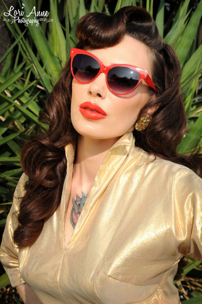 Contessa Sunglasses in Red