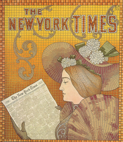 CLEARANCE - MODSQUID STOCK: New York Times Advertisement 1895