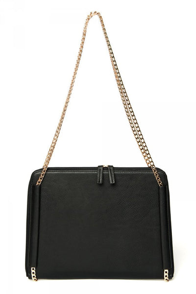 Lady on the Go iPad Clutch in Black