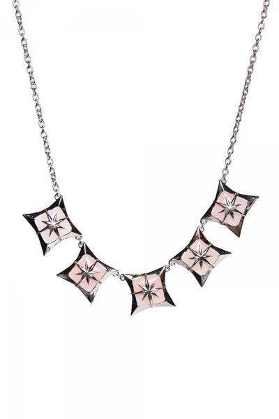 Starlite Necklace in Pink