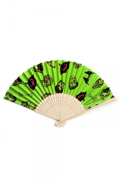 Monster Print Fan