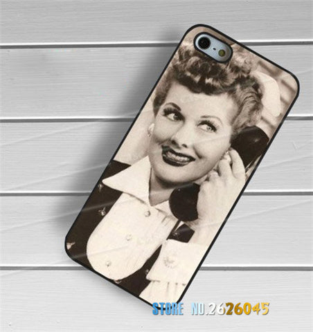 CLEARANCE - I Love Lucy Lucille Ball Vintage phone case cover for samsung galaxy s3 s4 s5 s6 s7 s6 edge s7 edge note 3 note 4 note 5 #yj689