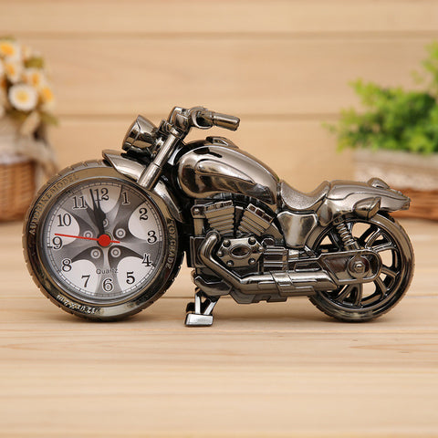 #s Motorcycle alarm clock Home Furnishing cool model creative gift supply booth decoration crafts