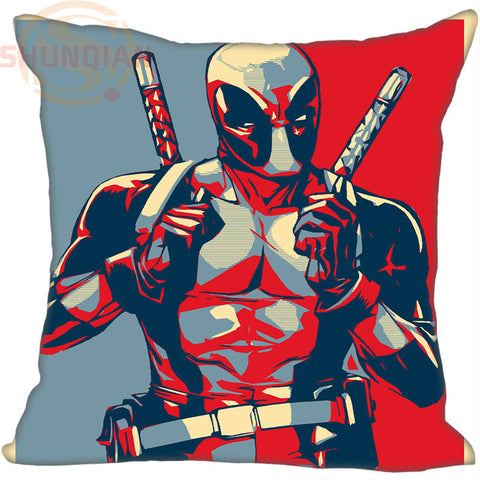 CLEARANCE - Hot Sale Custom Deadpool marvel comics #3 Pillowcase 50X50cm (One Sides)Home Cushion Cover Pillow Cases 9-22T
