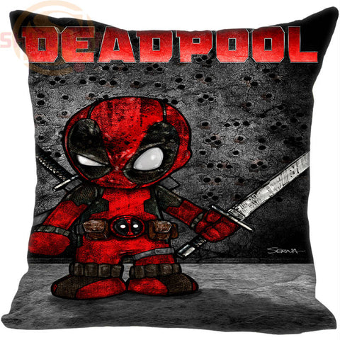 CLEARANCE - Hot Sale Custom Deadpool marvel comics #2 Pillowcase 40X40cm (One Sides)Home Cushion Cover Pillow Cases 9-22T