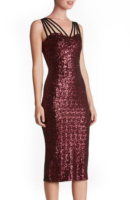 Sexy Club Dresses New Arrival Sexy Pencil Dresses Red Sequin Party
