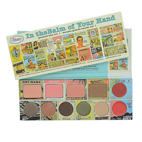 CLEARANCE - MODSQUID STOCK: 11in1 The Balm Makeup Set In TheBalm of Your Hand Face Eyeshadow Lipstick Blusher Powder Palette Nude Tude INSTAIN Bahama Mama