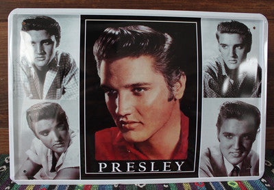 "CLEARANCE - MODSQUID STOCK: New 100% High Quality ""ELVIS PRESLEY MUSIC""Pub Signs Retro Metal Painting Vintage metal Plaque Wall 20x30CM Free shipping"