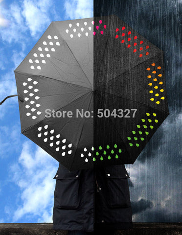 CLEARANCE - 1Piece Colour Changing Umbrella / Color Change Umbrella