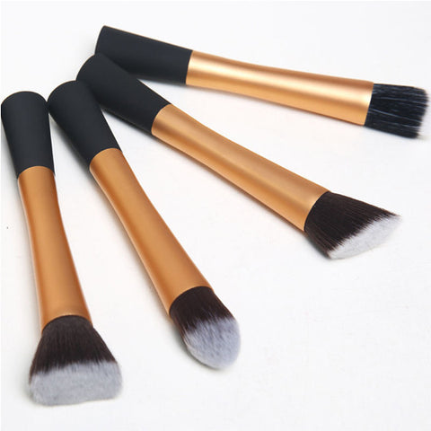 CLEARANCE - MODSQUID STOCK: Yellow Salon Fashion Professional Pro Powder Eyeshadow Blush Foundation Brush Makeup Cosmetic Tool Alternative Measures