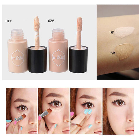 CLEARANCE - MODSQUID STOCK: Women Concealer Foundation Lip And Eyes Concealer Beauty Cosmetic Tool Cover Freckles Black Rim Of The Eye Makeup Tool 5ML