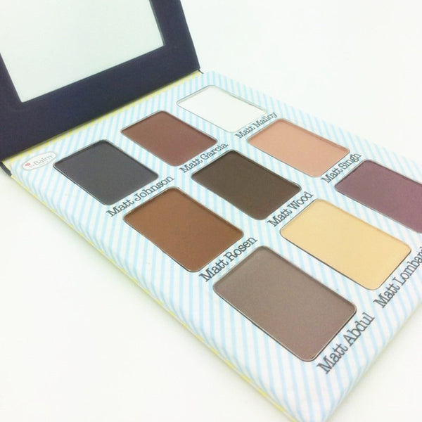 CLEARANCE - MODSQUID STOCK: The Balm Cosmetics 9 Colors Natural Meet Matt(e) Nude Eyeshadow Palette Eye Makeup 2015 New Style TheBalm Eye Shadow