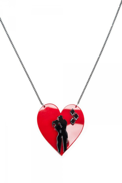 Harley and Joker Necklace