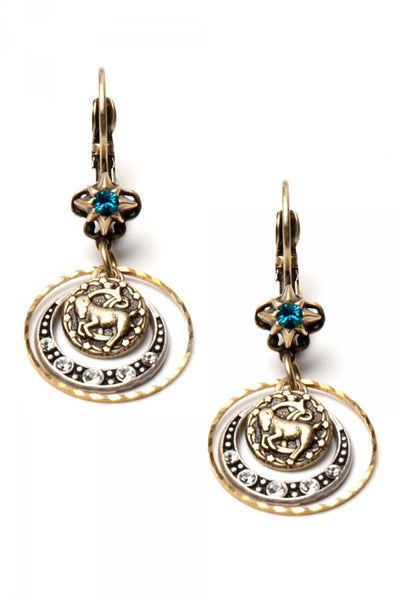 What's Your Sign? -  Capricorn Zodiac Earrings