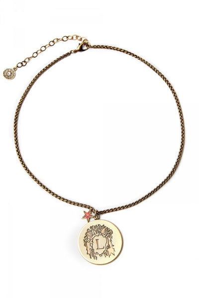What's Your Sign? - Leo Zodiac Necklace