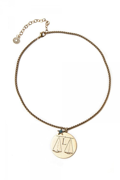 What's Your Sign? - Libra Zodiac Necklace