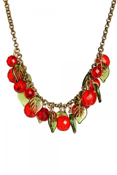 Cherries Jubilee Necklace