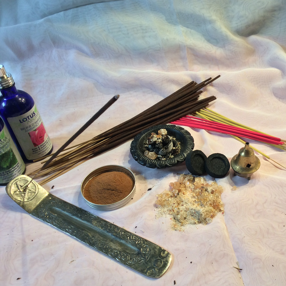 Incense, Incense Burners, Charcoal Tablets & Accessories