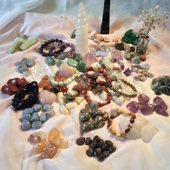 Stones, Crystals, and Gems