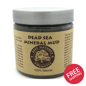 Dead Sea Mineral Mud removes toxins and impurities