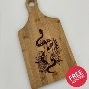 Goddess Cutting Board