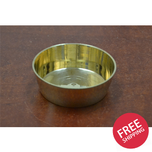 Handmade Brass Incense Burner Holder 3 1/4