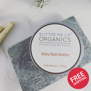 Baby Butt Butter - Organic Diaper Cream