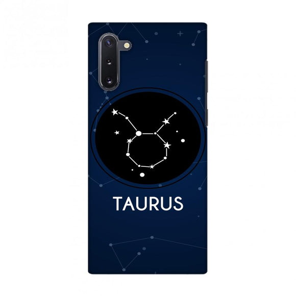 Stars Taurus Slim Hard Shell Case For Samsung Galaxy Note10