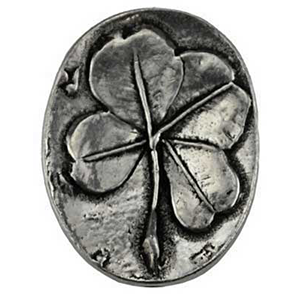 Clover Pocket Stone - Wiccan Place