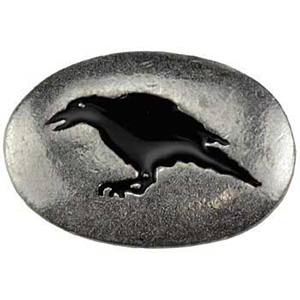 Raven Mystical Pocket Stone