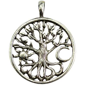 Celtic Tree of Life Amulet Necklace