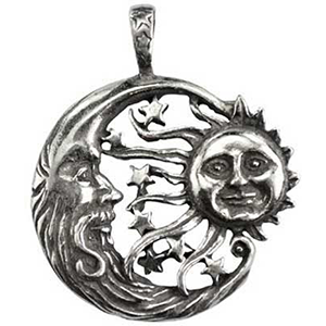 Windblown Celestial Amulet Necklace - Wiccan Place