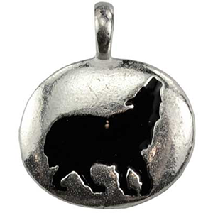 Wolf Totem Amulet Necklace - Wiccan Place