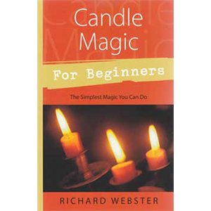 Candle Magic for Beginners by Richard Webster - Wiccan Place