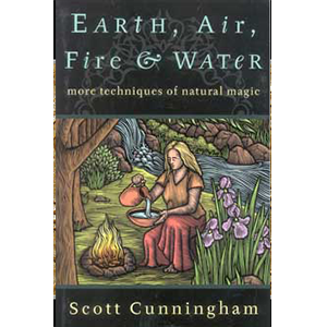Earth, Air, Fire & Water by Scott Cunningham - Wiccan Place
