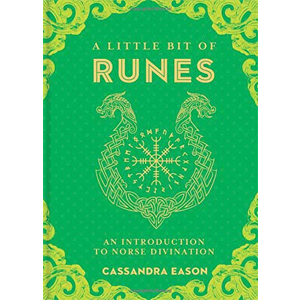 Little Bit of Runes (hc) by Cassandra Easton - Wiccan Place