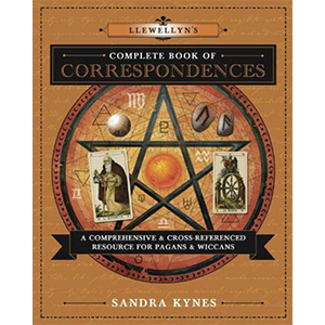 Llewellyn Complete Book of Correspondences by Sandra Kynes - Wiccan Place