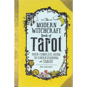 Modern Witchcraft book of Tarot (hc) by Skye Alexander