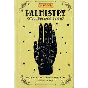 Palmistry, your Personal Guide (hc) by Roberta Vernon - Wiccan Place